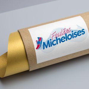 foulees_micheloises_creation_logo