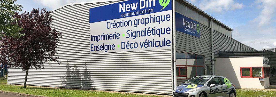 New Diff - Impression - Création Graphique - Signalétique
